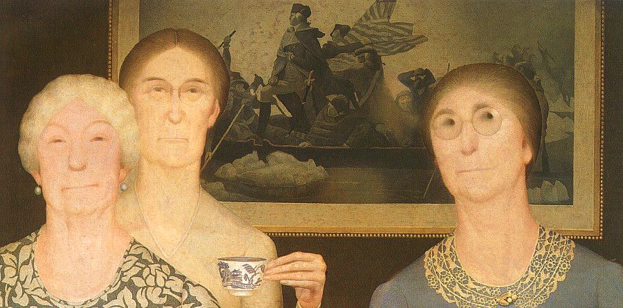 Daughters-of-the-Revolution-Grant-Wood-1932