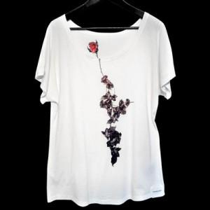 STeVeN TACH× ウツミダイスケ Rose Tシャツ ST-T01