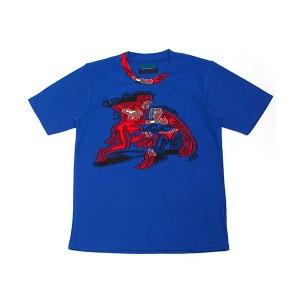 double t(ダブレット)BLACK CUT JACQUARD Tシャツ