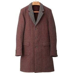TaaKK(ターク) MOSS WOOL COAT RED サイズ2