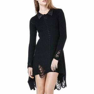 UNIF(ユニフ) FRANCIS ドレス Sサイズ BLK