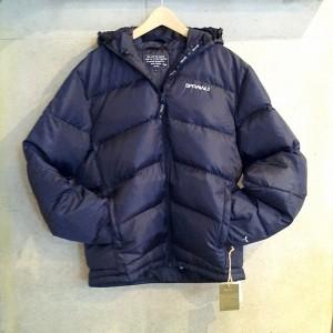 SPRAWLS(スプロールズ) Down Jacket ダウンジャケット 紺 サイズL