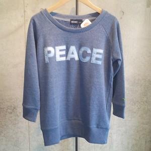 SPRAWLS(スプロールズ) PEACE Tシャツ Girl Free ブルー