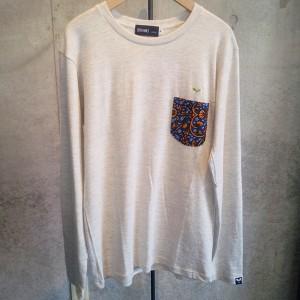 SPRAWLS(スプロールズ)胸ポケット 切替 Tシャツ M ホワイト