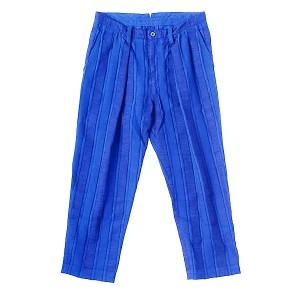 TaaKK(ターク) MIX-TAPE STRIPE パンツ ブルー