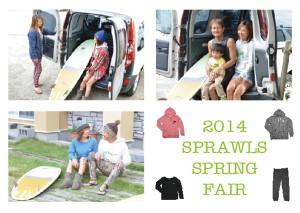 3/29(土)30(日) SPRAWLS SPRING FAIR!