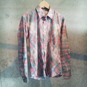 EFFECTEN(エフェクテン) `argyleman`shirts ピンク