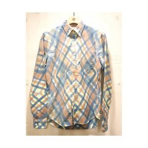 EFFECTEN(エフェクテン) `argyleman`shirts イエロー