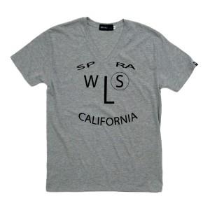 SPRAWLS(スプロールズ)SMILE Tシャツ グレー