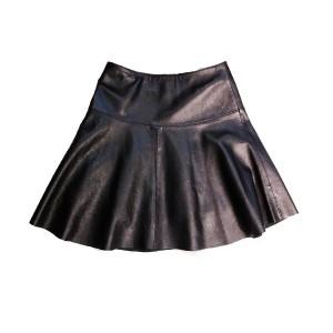 R. レザースカート ブラック Sサイズ