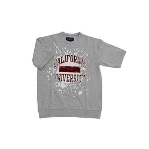 double t(ダブレット) スパンコールTシャツ GRY サイズS
