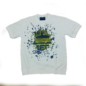 double t(ダブレット) スパンコールTシャツ WHT サイズS