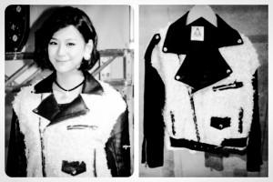 Miss Nishiuchi wore UNIF!!!