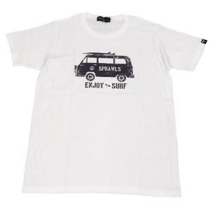 SAPRAWLS(スプロールズ) ENJOY SURF Tシャツ