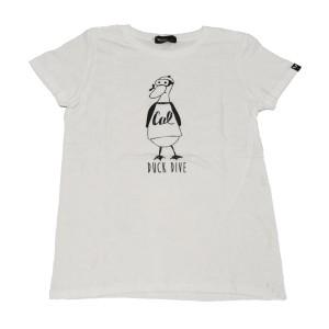 SAPRAWLS(スプロールズ) DUCK DIVE シャツ (ホワイト)