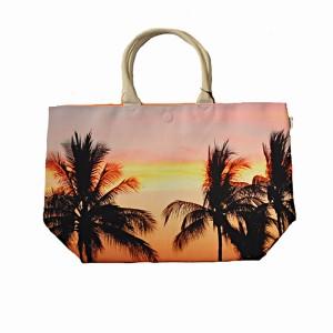"""Havanine (ハバナイン) トートバッグ Reversible Tote Bag """"Palmtrees"""""""