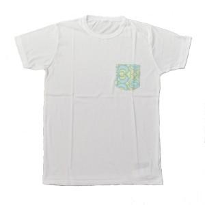 SAPRAWLS(スプロールズ) × RUKA オリジナルTシャツ WHITE/green