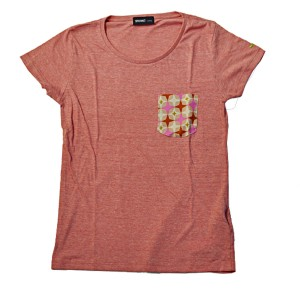 SAPRAWLS(スプロールズ) × RUKA オリジナルTシャツ pink