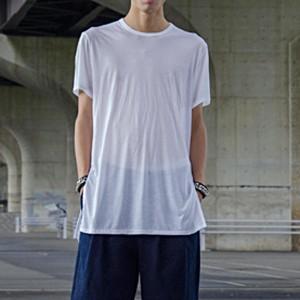 Shinyayamaguchi(シンヤヤマグチ) Tencel Long T-Shirt