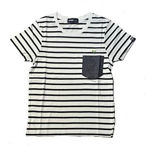 SAPRAWLS(スプロールズ) Tシャツ ボーダー&ポケット
