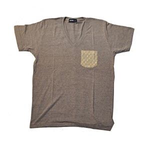 SAPRAWLS(スプロールズ) × RUKA オリジナルTシャツ brown
