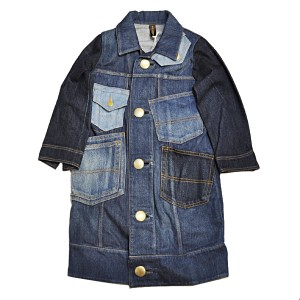 MIHARA YASUHIRO(ミハラヤスヒロ)  Denim Pockets Long Jacket