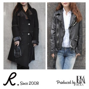 R.   produced by RUKA LEATHER ITEM