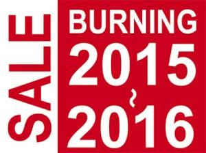 BURNING SALE! 2015-2016