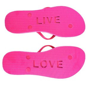 moeloco (モエロコ) beach Sandal LIVE LOVE