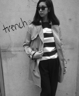 trench coat style!