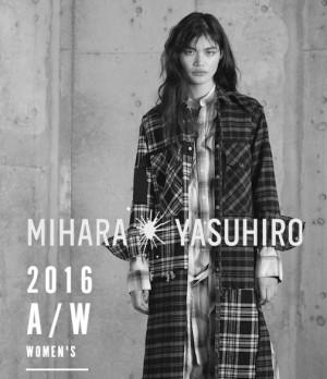 MIHARA YASUHIRO 2016AW PRE COMING SOON