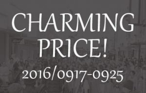 CHARMING PRICE! 9/17-25