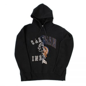 DOUBLET(ダブレット) Indian College Half   BLK M size