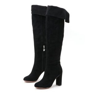 MYneself(MIHARA YASUHIRO) knee hi boots BLK
