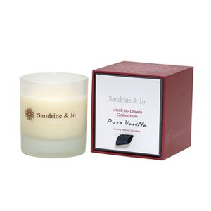 Sandrine & Jo   アロマキャンドル Pure Vanilla
