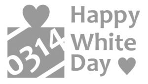 HAPPY WHITE DAY!