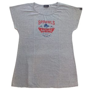 "SPRAWLS(スプロールズ)    ""NATURE"" 5.0oz S/ S Tee Shirts  GRY  SizGF"