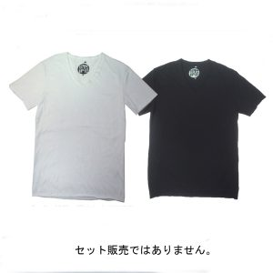 SPRAWLS(スプロールズ)  Slab V-neck Tee Shirts BLK