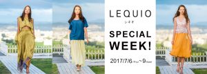 LEQUIO POP-UP STORE!