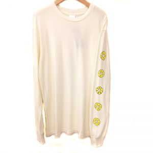 RIP N DIP Flower Long Sleeve T-Shirts( LA POP UP STORE 限定) WHT