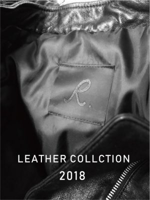 R.LEATHER ITEM NEW COMMER!