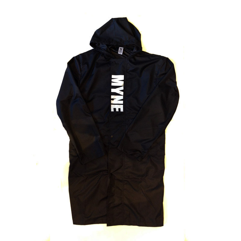 """WALK THIS WAY"" RAIN COAT / BLACK / S"
