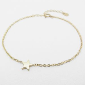SYMPATHY OF SOUL Little Shine Star Bracelet – K10Yellow Gold
