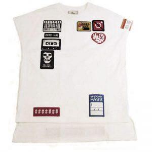MIHARA YASUHIRO Embroidery Wappen Vest(WHT)