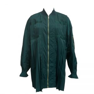 IN-PROCESS (インプロセス) MA-1 PLEATED JACKET (GREEN)