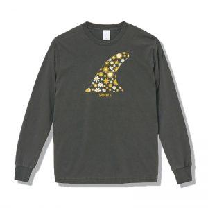 SPRAWLS (スプロールズ) FIN PIGMENT DYE L/S TEE (BLACK)