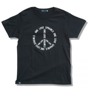 SPRAWLS (スプロールズ) ONE LOVE S/S TEE (BLACK)