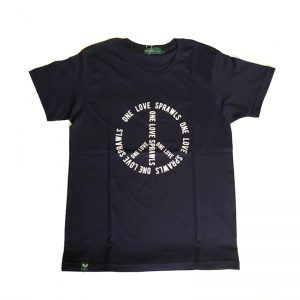 SPRAWLS (スプロールズ) ONE LOVE S/S TEE (NAVY)