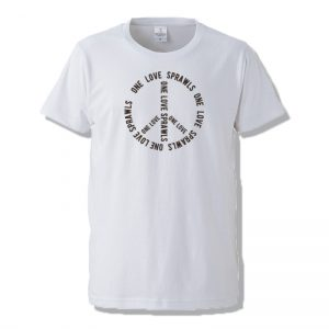 SPRAWLS (スプロールズ) ONE LOVE S/S TEE (WHITE)