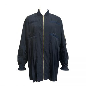 IN-PROCESS (インプロセス) MA-1 PLEATED JACKET (NAVY)